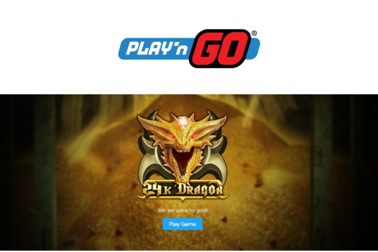 ¡Play'n GO Look to Strike Gold con 24K Dragon!